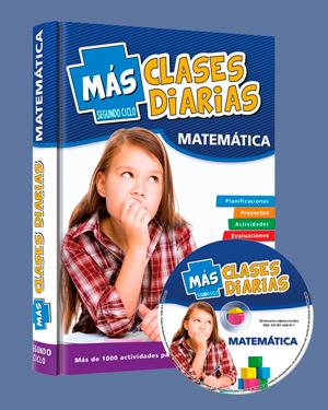 Más clases diarias 2do ciclo - Matemática